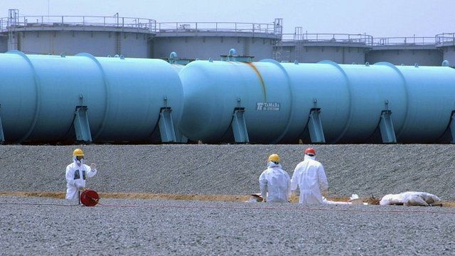 Workers at Fukushima nuclear plant