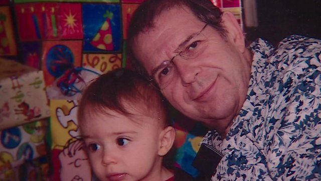 Warren Weinstein with a grandchild before his capture in Pakistan