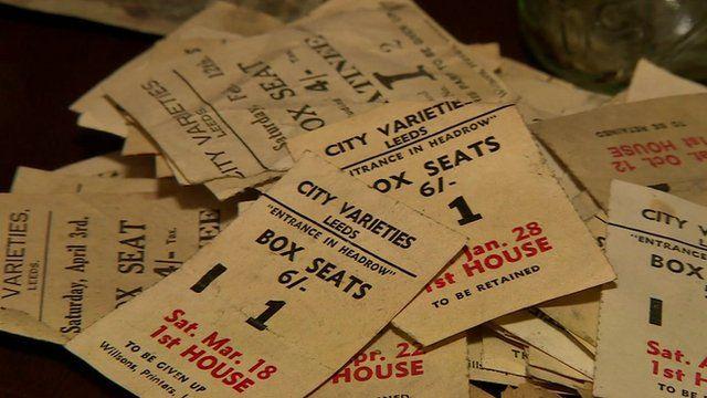 Tickets found at Leeds City Varieties