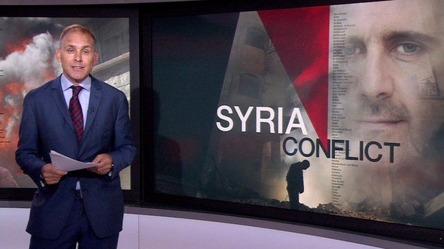 The BBC's defence correspondent Jonathan Beale outlines the options for military intervention in Syria