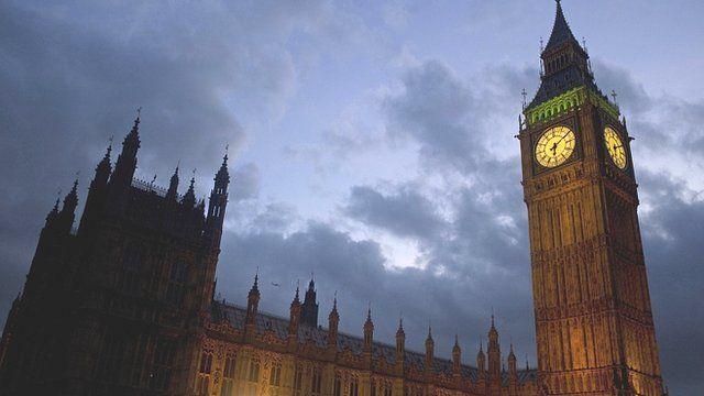 Big Ben from Westminster Bridge in London
