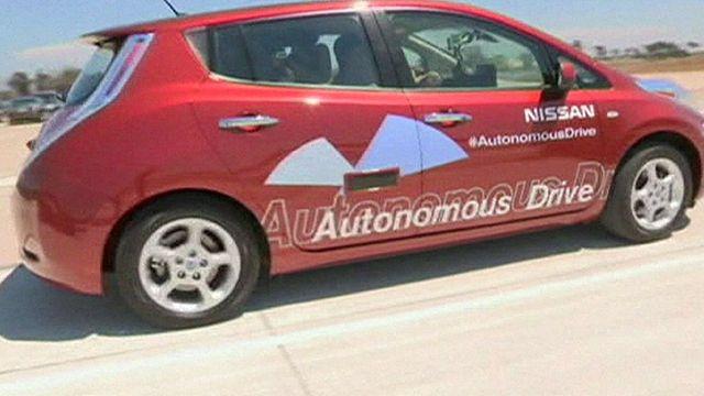 Nissan's self-driving car