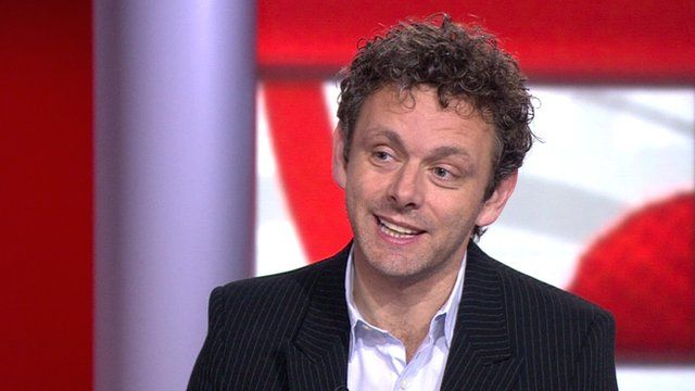 Actor Michael Sheen