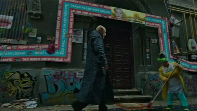 Scene from The Zero Theorem