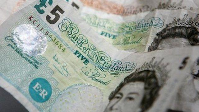 Five pound notes