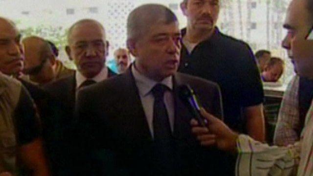 Egyptian Interior Minister Mohammed Ibrahim