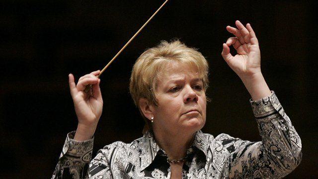 Conductor Marin Alsop