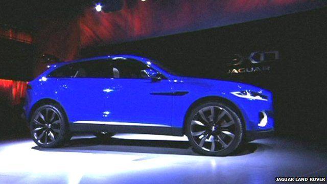 Jaguar Land Rover car