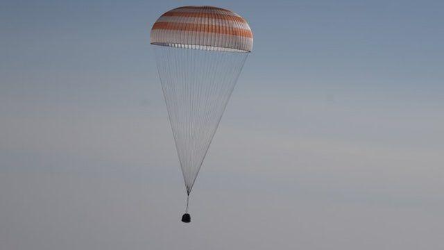 The Soyuz capsule