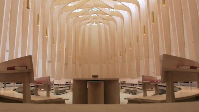 Bishop Edward King Chapel at Ripon College, Cuddesdon
