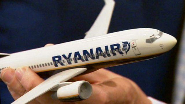 Ryanair model plane
