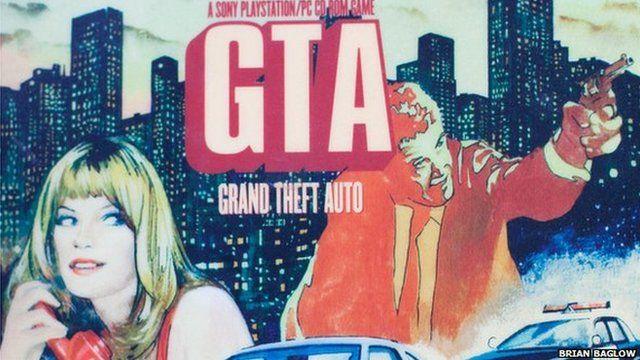 Grand Theft Auto artwork