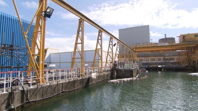 Sellafield's contaminated ponds