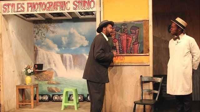 Sizwe Banzi is Dead at the Young Vic Photo: Manuel Toledo, BBC Africa