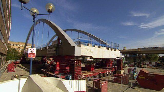 QMC tram bridge