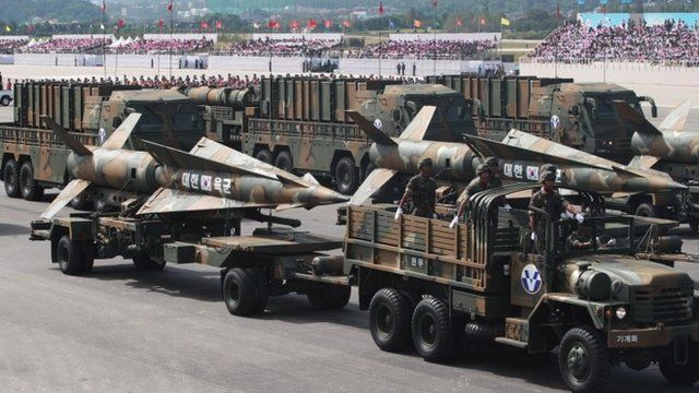 South Korea's cruise missiles