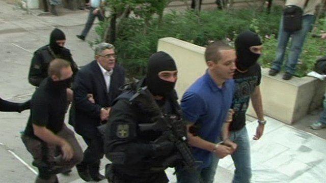 Golden Dawn court arrivals