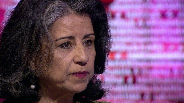 Egyptian author and activist, Ahdaf Soueif