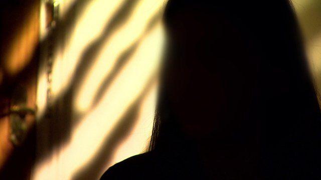 Trafficking victim