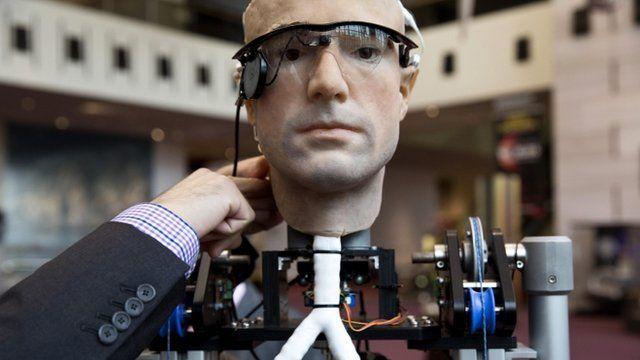 Frank the bionic man