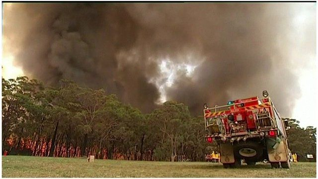 Wildfires in New South Wales