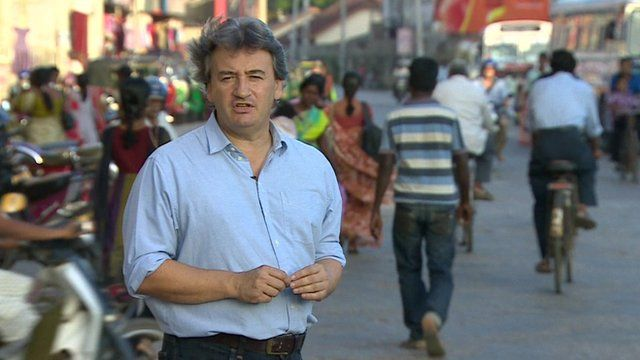 Fergal Keane in Sri Lanka