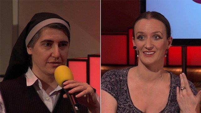 Teresa Forcades Radical Spanish nun + Atheist Kate Smurthwaite