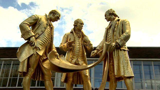 Statue in Birmingham city centre