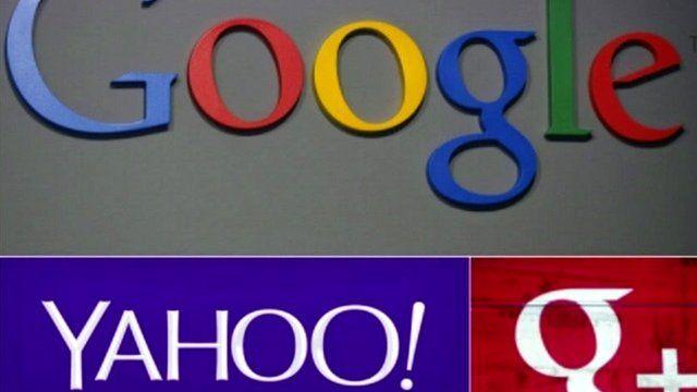Google and Yahoo! graphics