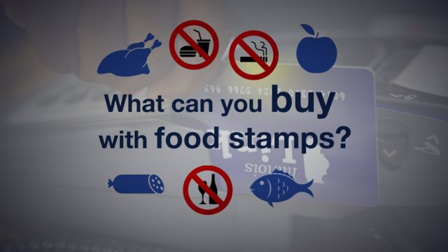 Food stamp graphic