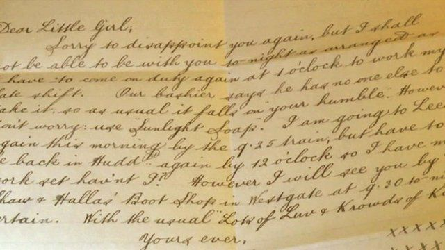 World War One Love Letters Discovered In Attic