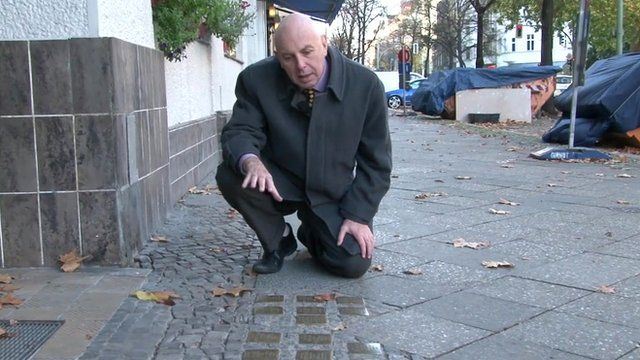 Steve Evans looks at how Kristallnacht is remembered in Berlin