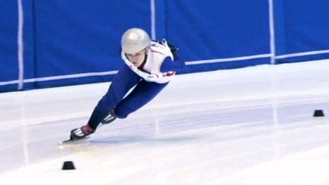 Elise Christie skating