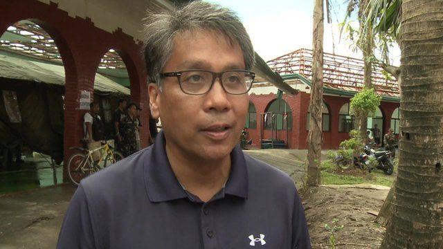 Philippines Interior Secretary Mar Roxas