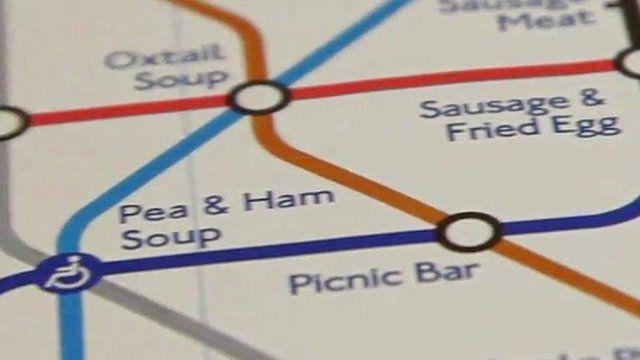 Synaesthesia Underground map