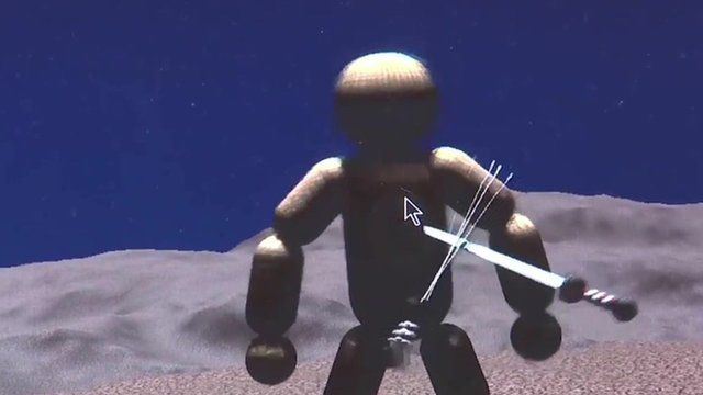 Screenshot from video game