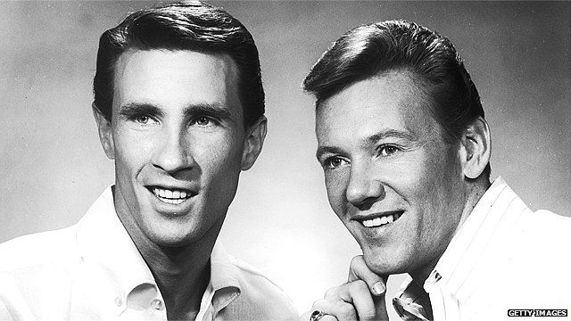 Bill Medley and Bobby Hatfield, The Righteous Brothers, in 1965