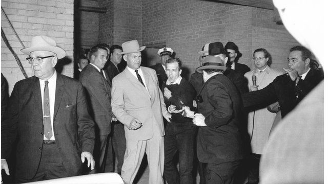 Jack Ruby shooting Lee Harvey Oswald