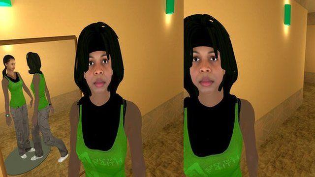 Virtual reality world