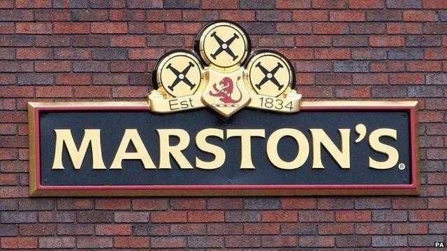 Marston's sign
