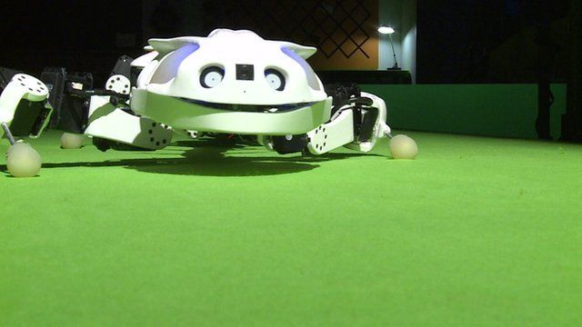 The 'Pleurobot' robot by Swiss-based researchers