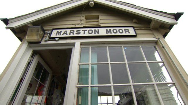 Marston Moor signal box