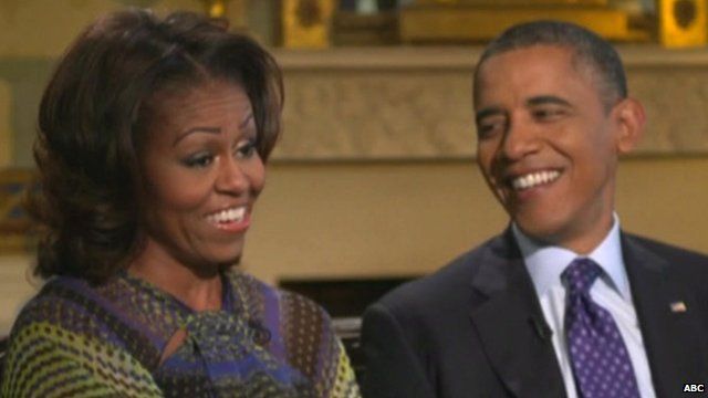 Michelle and Barack Obama on ABC's 20/20