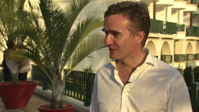 Alex Ellis, the British Ambassador to Brazil