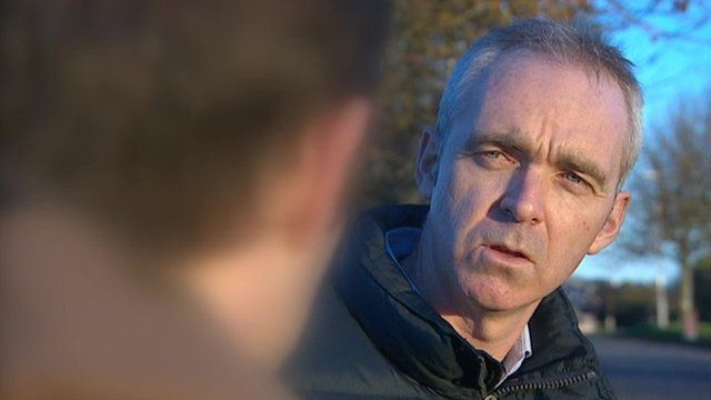 Ex-Royal Marine and BBC Spotlight reporter