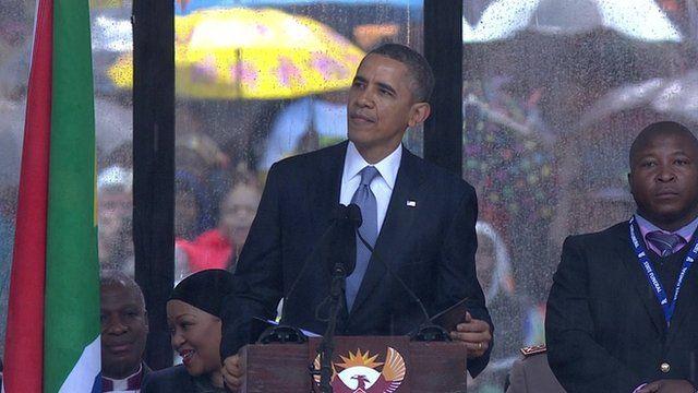 Nelson Mandela funeral: President Obama's full speech ...