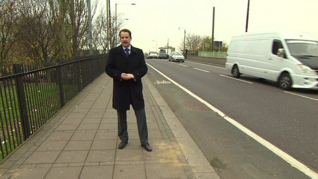 The BBC's Matt Prodger in Tottenham, north London