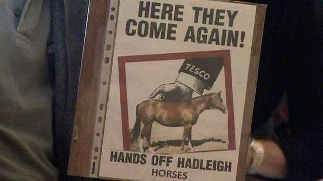 Anti-Tesco campaign in Hadleigh