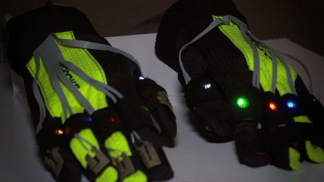 Gloves that help stroke victims