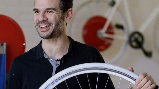 Assaf Biderman, co-inventor of the Copenhagen Wheel